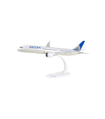 1:200 United Airlines Boeing 787-9 Dreamliner - сглобка без лепило