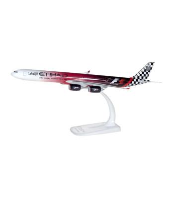 "1:250Etihad Airways Airbus A340-600 ""Abu Dhabi Grand Prix"" – сглобка без лепило"