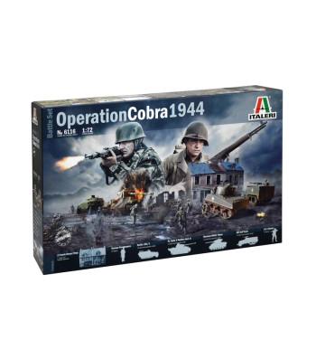 "1:72 Диорама: Операция ""КОБРА"" 1944 (OPERATION COBRA 1944) - комплект с фигури и модели"