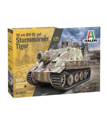 1:35 Германски танк 38 cm RW 61 aus STURMMORSER TIGER