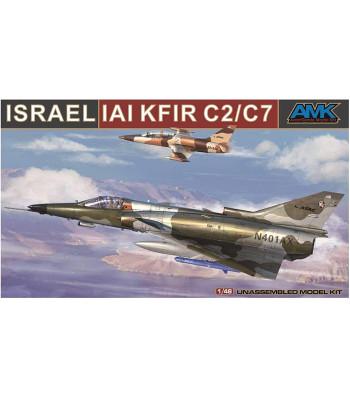 1:48 Израелски многоцелеви изтребител KFIR C2/C7