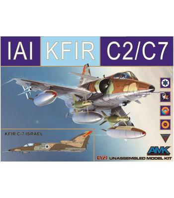 1:72 Израелски многоцелеви изтребител KFIR C2/C7
