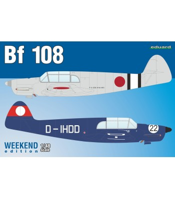 1:48 Германски самолет от Втората световна война Bf 108