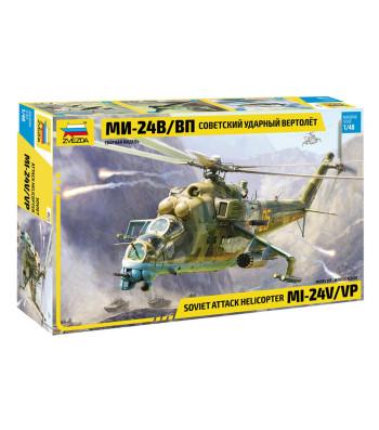 1:48 Руски хеликоптер MI-24V/VP