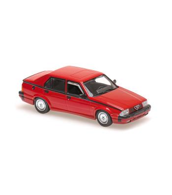 ALFA ROMEO 75 V6 AMERICA - 1987 - RED - MAXICHAMPS
