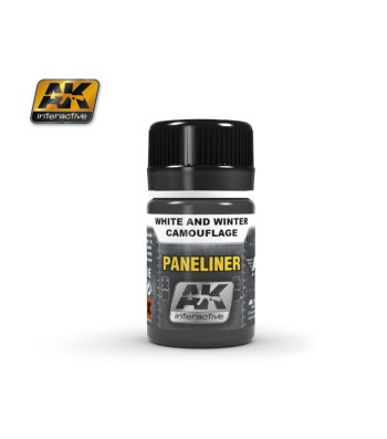 AK2074 PANELINER FOR WHITE AND WINTER CAMOUFLAGE (35 ml) - Ерозиращ продукт за авиация