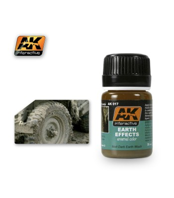 AK017 EARTH EFFECTS - Ерозиращ продукт (35 ml)