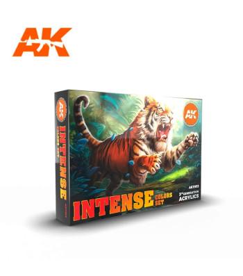 AK11612 INTENSE COLORS SET - (6 x 17 ml) - Акрилни бои от ново поколение