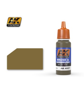 AK-4007 Buff Dark Shade - Acrilyc Paints