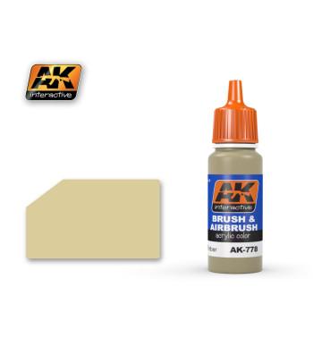 AK779 WOOD BASE - Акрилна боя от синя серия (17 ml)