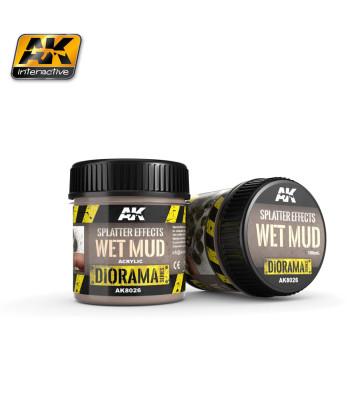 AK8026 Ефект: Пръски мокра тиня (SPLATTER EFFECTS WET MUD) - (100ml, основен продукт, акрил) - Текстуриращ продукт
