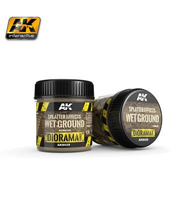 AK8029 Ефект: Пръски мокра почва (SPLATTER EFFECTS WET GROUND) - (100 ml, акрил) - Текстуриращ продукт