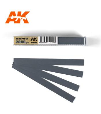 AK9028 Водна шкурка 2000 grit x 50 броя