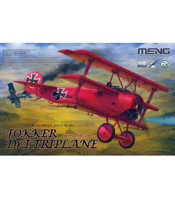 1:32 Германски самолет Fokker Dr.I Triplane