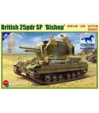 1:35 Британска самоходна артилерийска установка Valentine  SPG〝Bishop〞