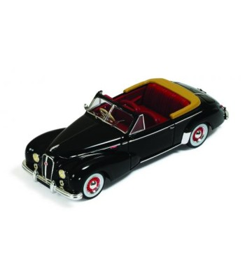 HOTCHKISS ANTHEOR Cabriolet 1953 Black with Red Interior
