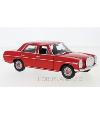 Mercedes 220 (W115), red, 1968