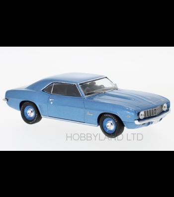 Chevrolet Camaro, metallic-blue, 1969