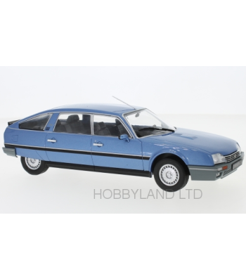Citroen CX 2500 Prestige Phase 2, metallic-blue, 1986