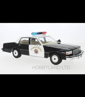 Chevrolet Caprice, California Highway Patrol , 1987