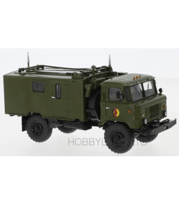 GAZ 66 Comunications truck R-142, NVA