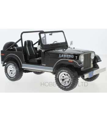 Jeep CJ-7 Laredo, black 1980