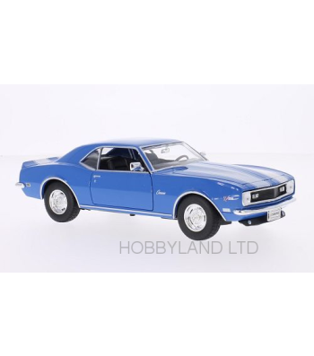Chevrolet Camaro Z28, blue/white, without showcase, 1968
