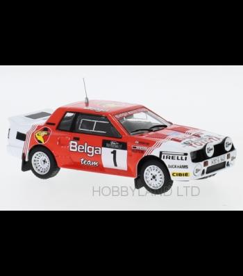 Toyota Celica Twincam Turbo (TA64), No.1, Toyota team Europe, Belga, Haspengouw Rallye, J.Kankkunen/F.Gallagher, 1985