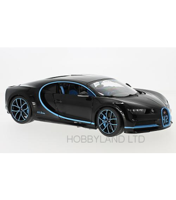 Bugatti Chiron - Metallic-blue/Dark Blue