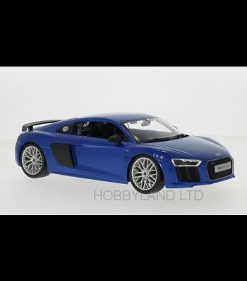 Audi R8 V10 Plus, blue