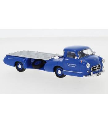 Mercedes Race Car Quick Transportation, the blue Wunder, 1955