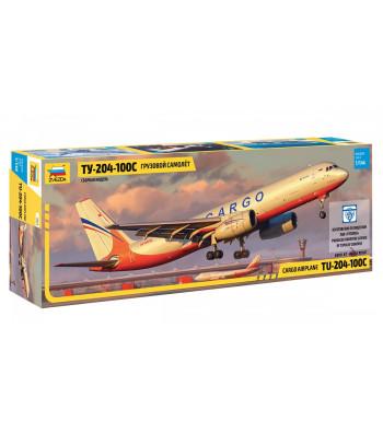 1:144 Пътнически самолет Туполев ТУ 204-100 Карго (TUPOLEV TU 204-100 CARGO)