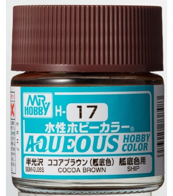 H-017 Gloss Cocoa Brown (10ml) - Mr. Color for Worship Models