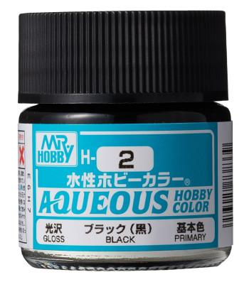 H-002 Black (10ml) - Mr. Color