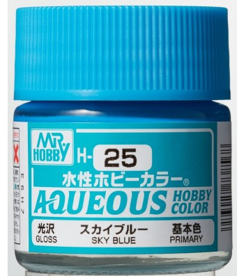 H-025 Gloss Sky Blue (10ml) - Mr. Color
