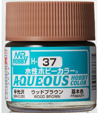 H-037 Gloss Wood Brown (10ml) - Mr. Color