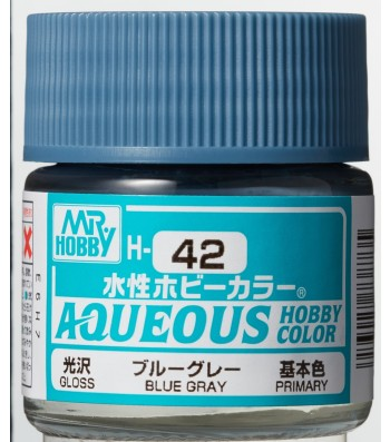 H-042 Gloss Blue Grey (10ml) - Mr. Color