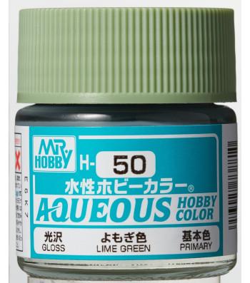 H-050 Gloss Lime Green (10ml) - Mr. Color