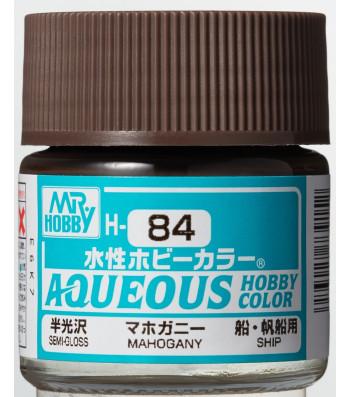 H-084 Semi-Gloss Mahogany (10ml) - Mr. Color for Worship Models