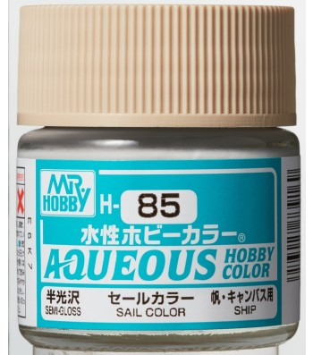 H-085 Flat Sail Color (10ml) - Mr. Color for Worship Models