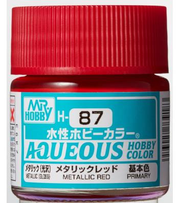 H-087 Metallic Red (10ml) - Mr. Color for Car Models