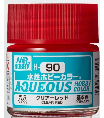 H-090 Gloss Clear Red (10ml) - Mr. Color