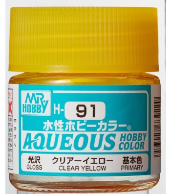 H-091 Gloss Clear Yellow (10ml) - Mr. Color