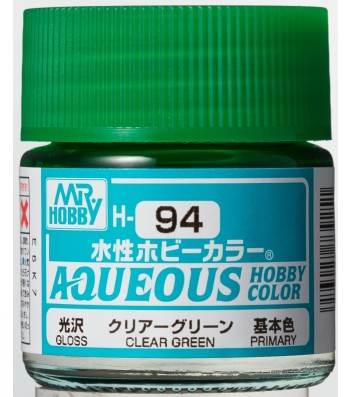 H-094 Gloss Clear Green (10ml) - Mr. Color