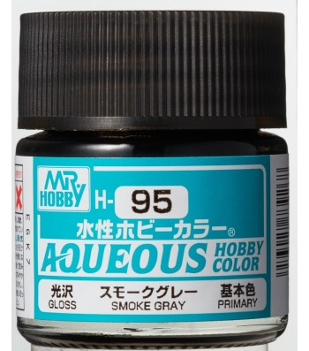 H-095 Gloss Smoke Grey (10ml) - Mr. Color for Car Models