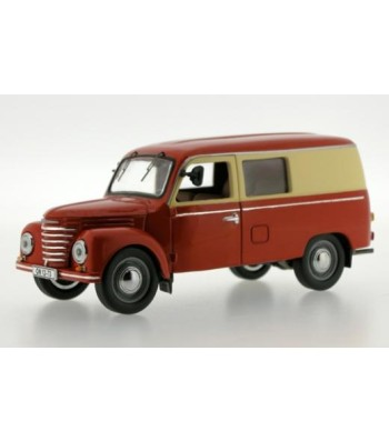 IFA FRAMO V901/2 KASTENWAGEN (VAN) 1954 Red