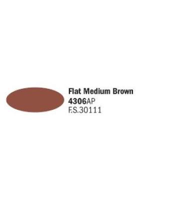 Flat Medium Brown - Акрилна боя за моделизъм (20 ml)