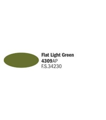 Flat Light Green - Акрилна боя за моделизъм (20 ml)