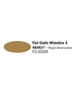 Flat Giallo Mimetico 4 - Акрилна боя за моделизъм (20 ml)
