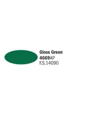 Gloss Green - Акрилна боя за моделизъм (20 ml)